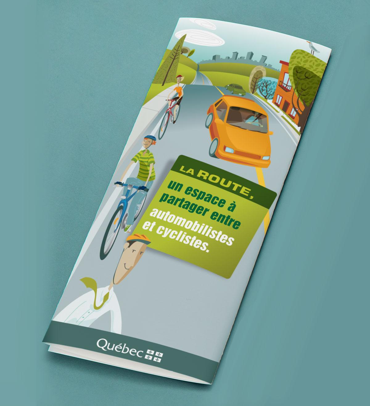 Illustration Ministère des transport vélo et auto