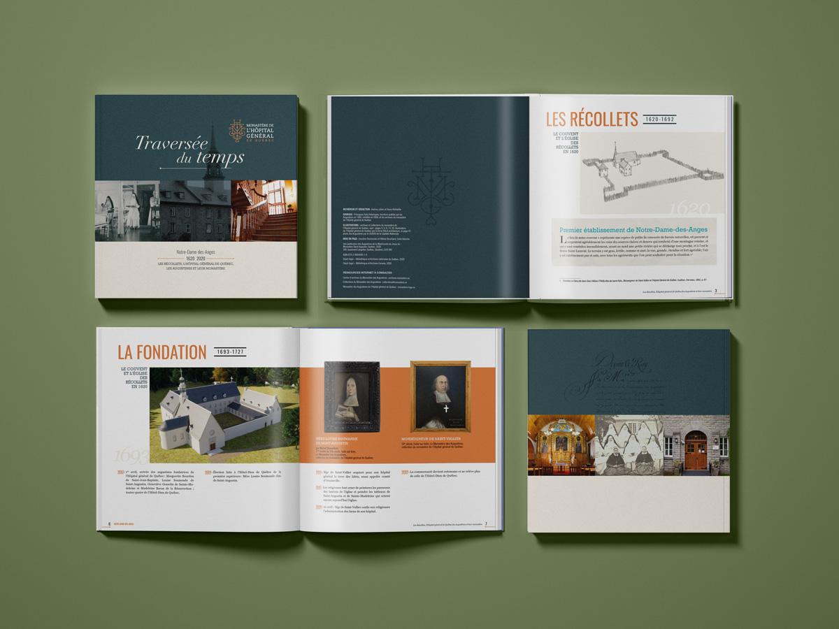 brochure histoire Monastère de l'hopitale général