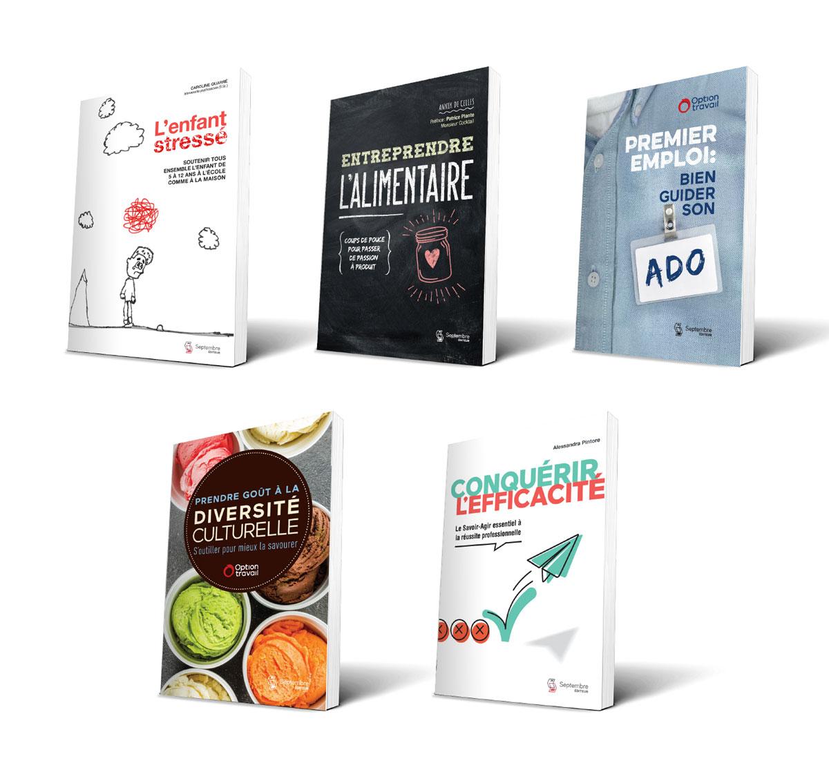 Septembre éditeur édition volumes divers