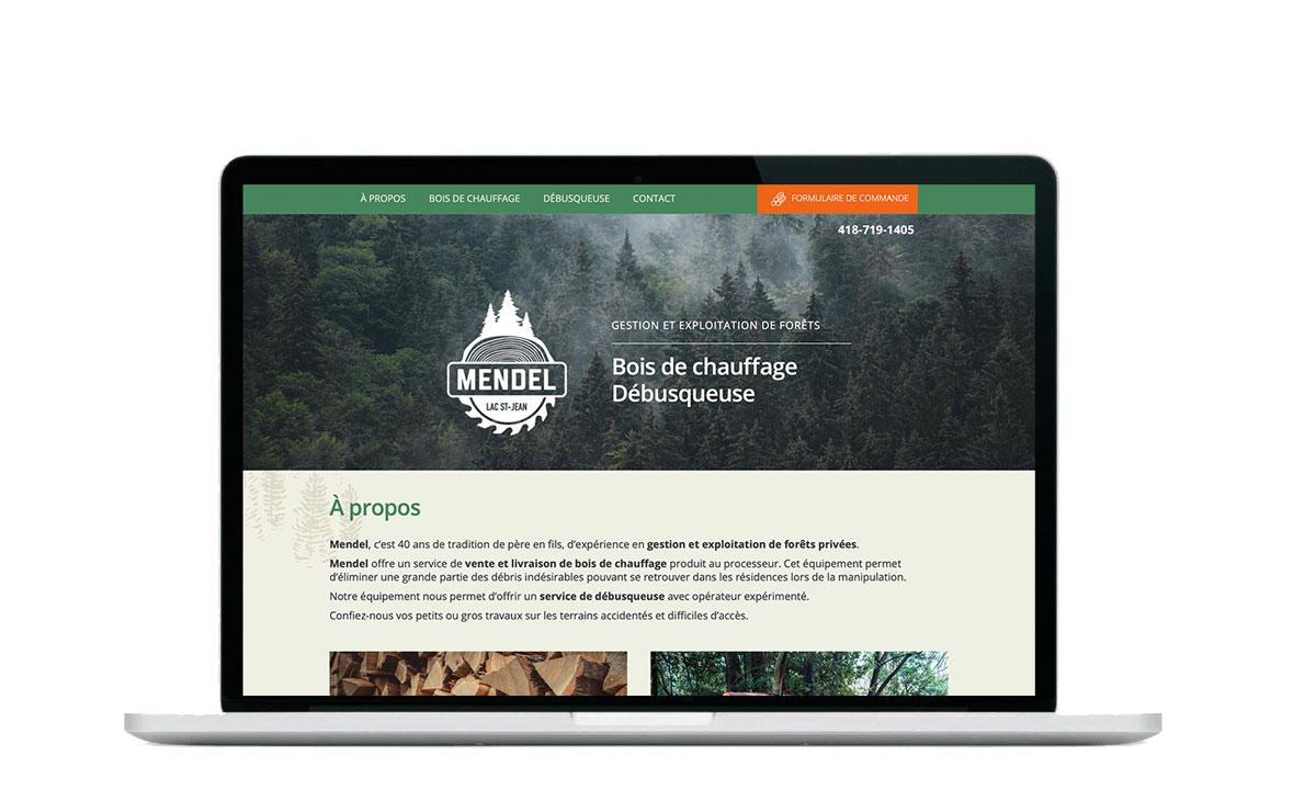 Bois Mendel bois de chauffage site