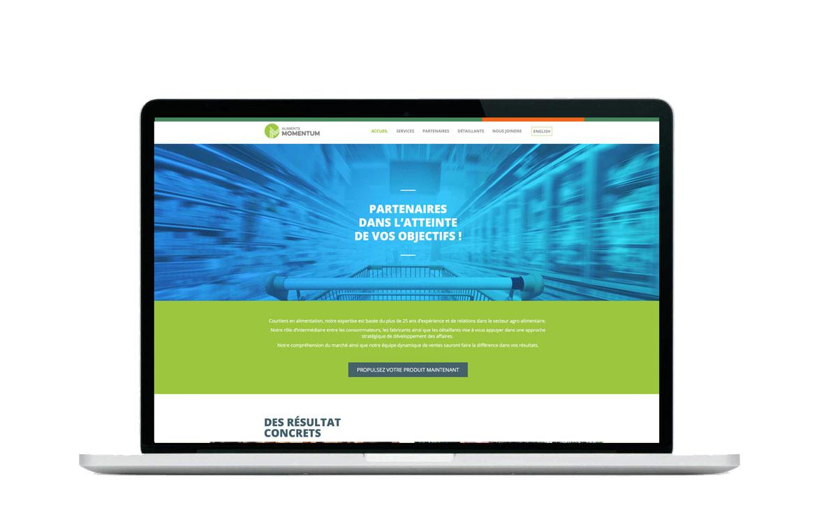 food momentum site internet
