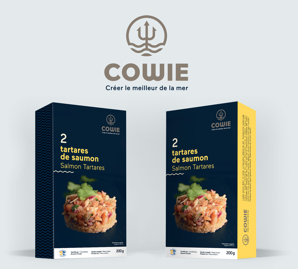 emballage tartare cowie
